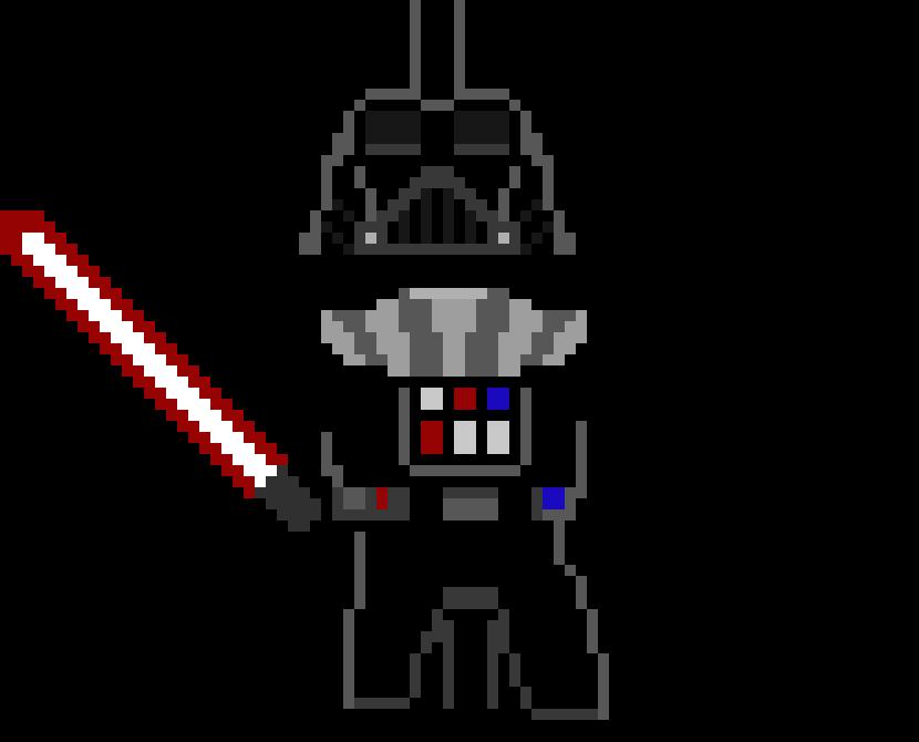 Dark Vador Pixel