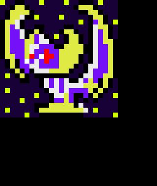 Tgws First Pixel Art Lunala Pixel Art Maker
