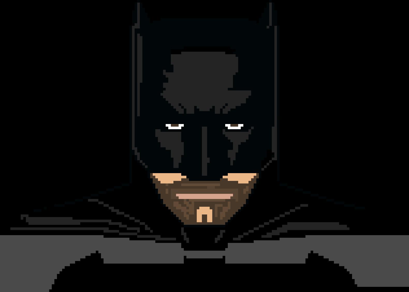 Batman From Batman V Superman Dawn Of Justice Pixel Art Maker