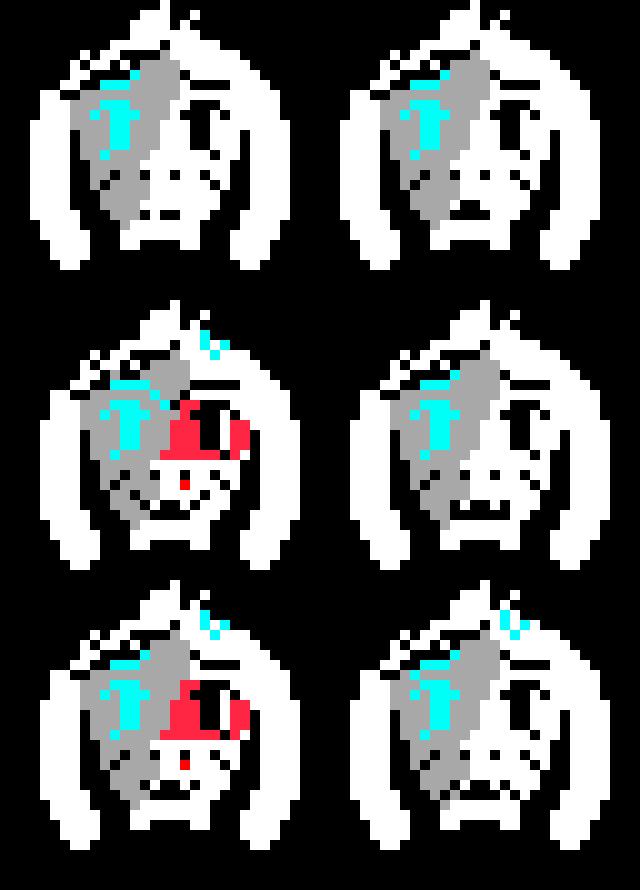 Asriel Ex Switchertale au expressions
