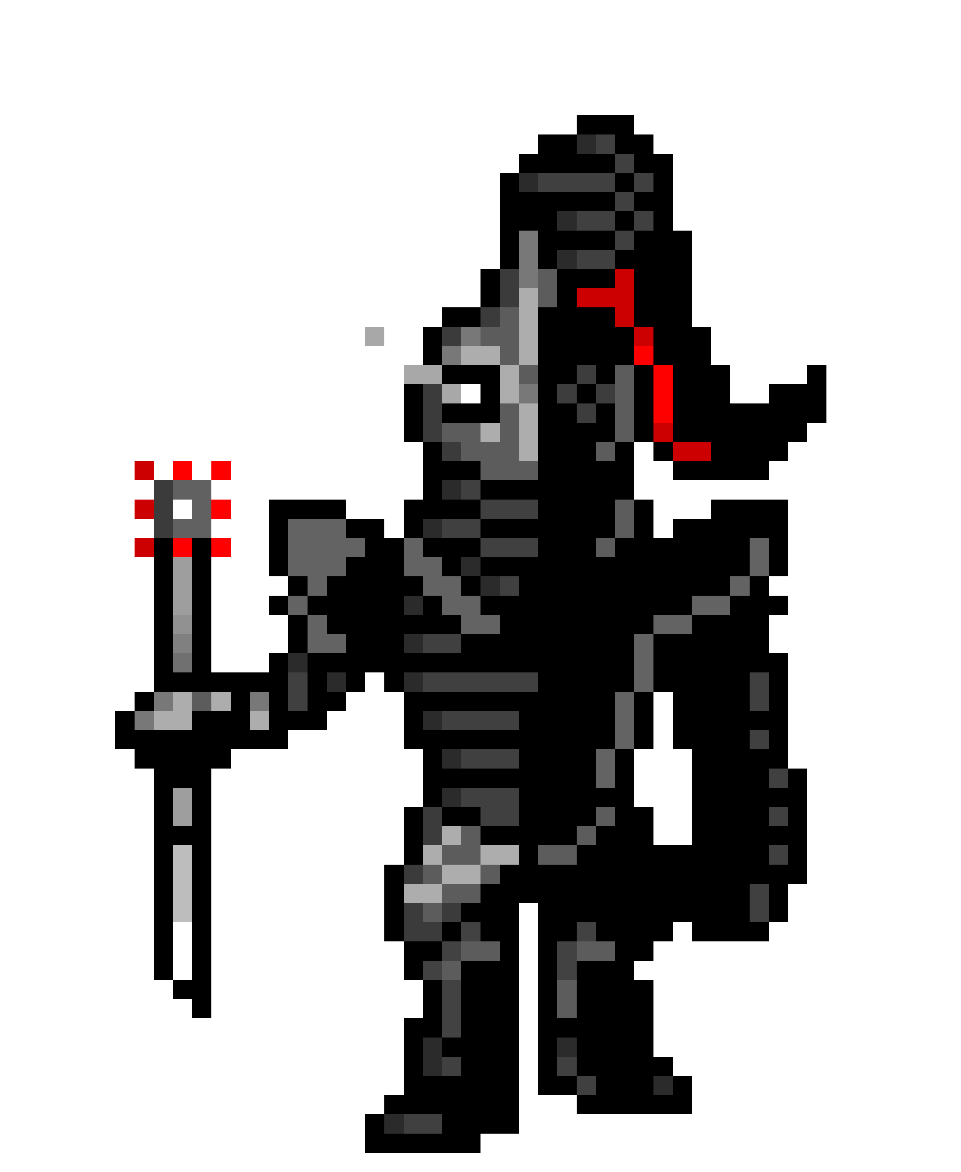 Ninjatale Undyne Sprite With Armor Pixel Art Maker