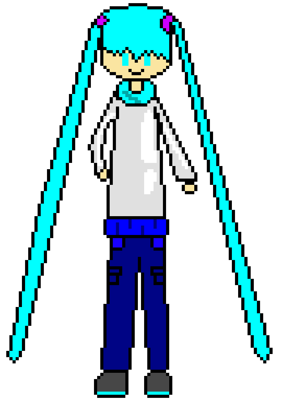 IT IS I! THE FANTASTIC MIKU READY FOR BATTLE
