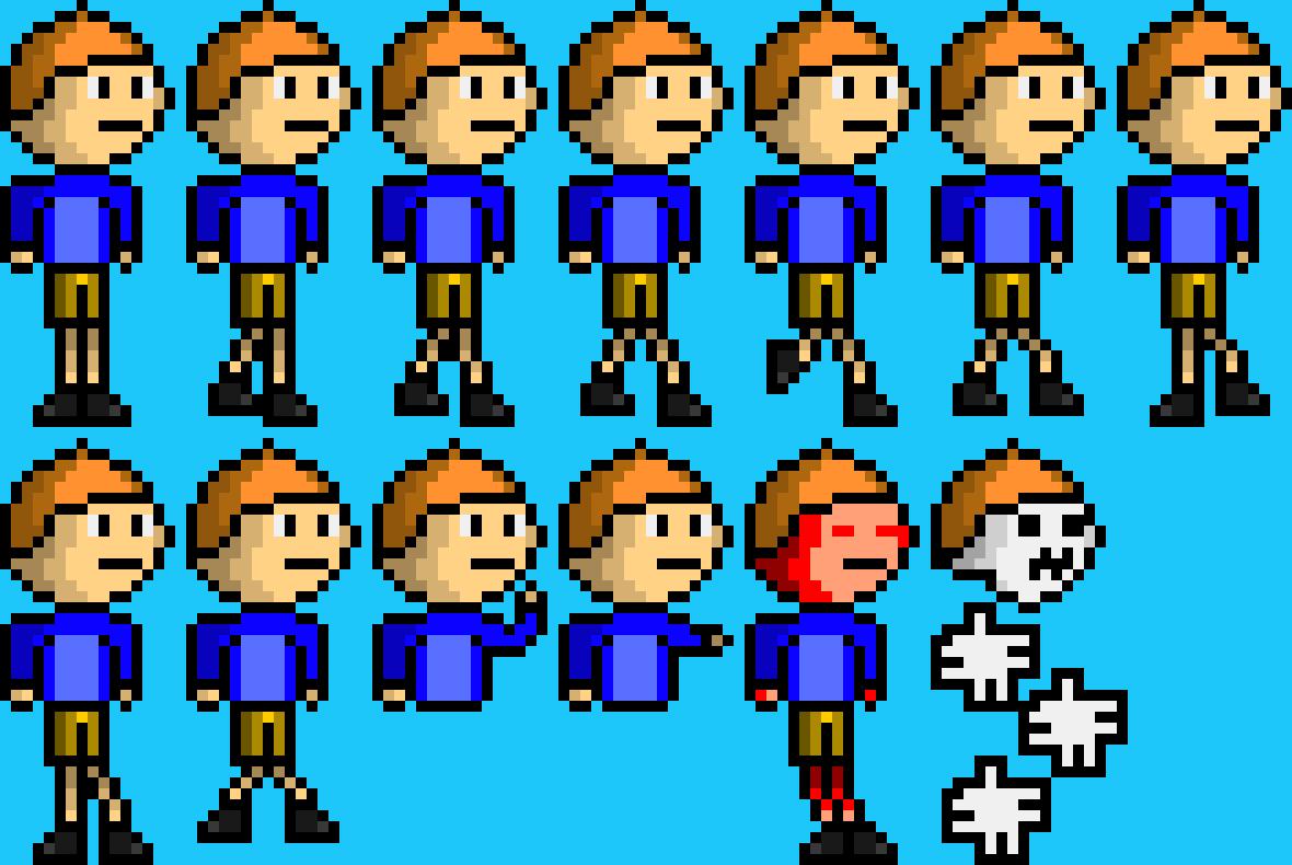 2d Steve Pixel Art Maker