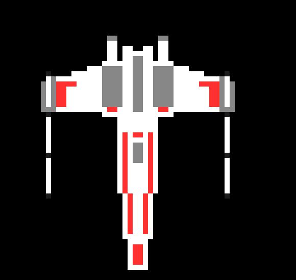 Star Wars X Wing Pixel Art Maker