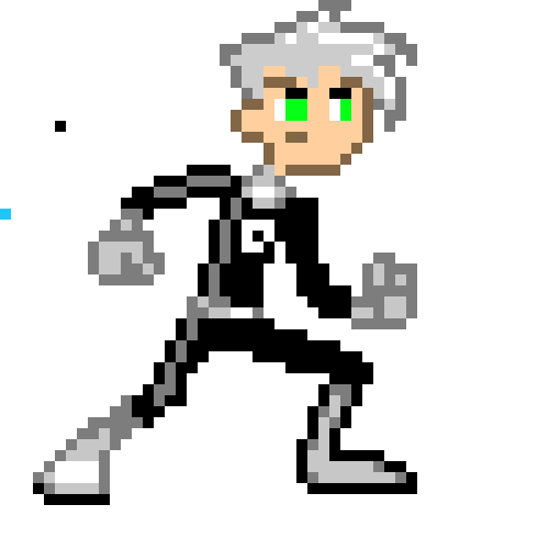 Danny Phantom Pixel Art Maker