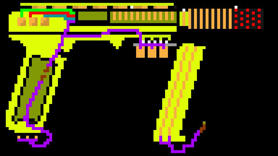 The Peashooter (Rare WT:U Weapon)   Pixel Art Maker