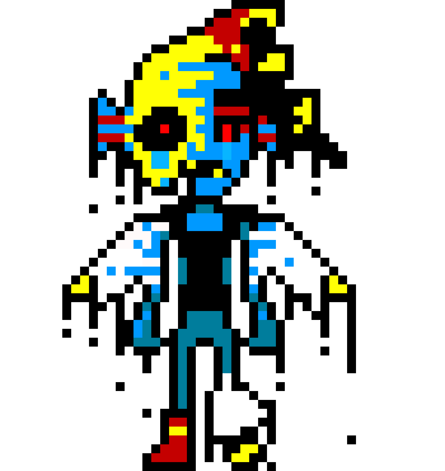 undertale sprite pixel art maker