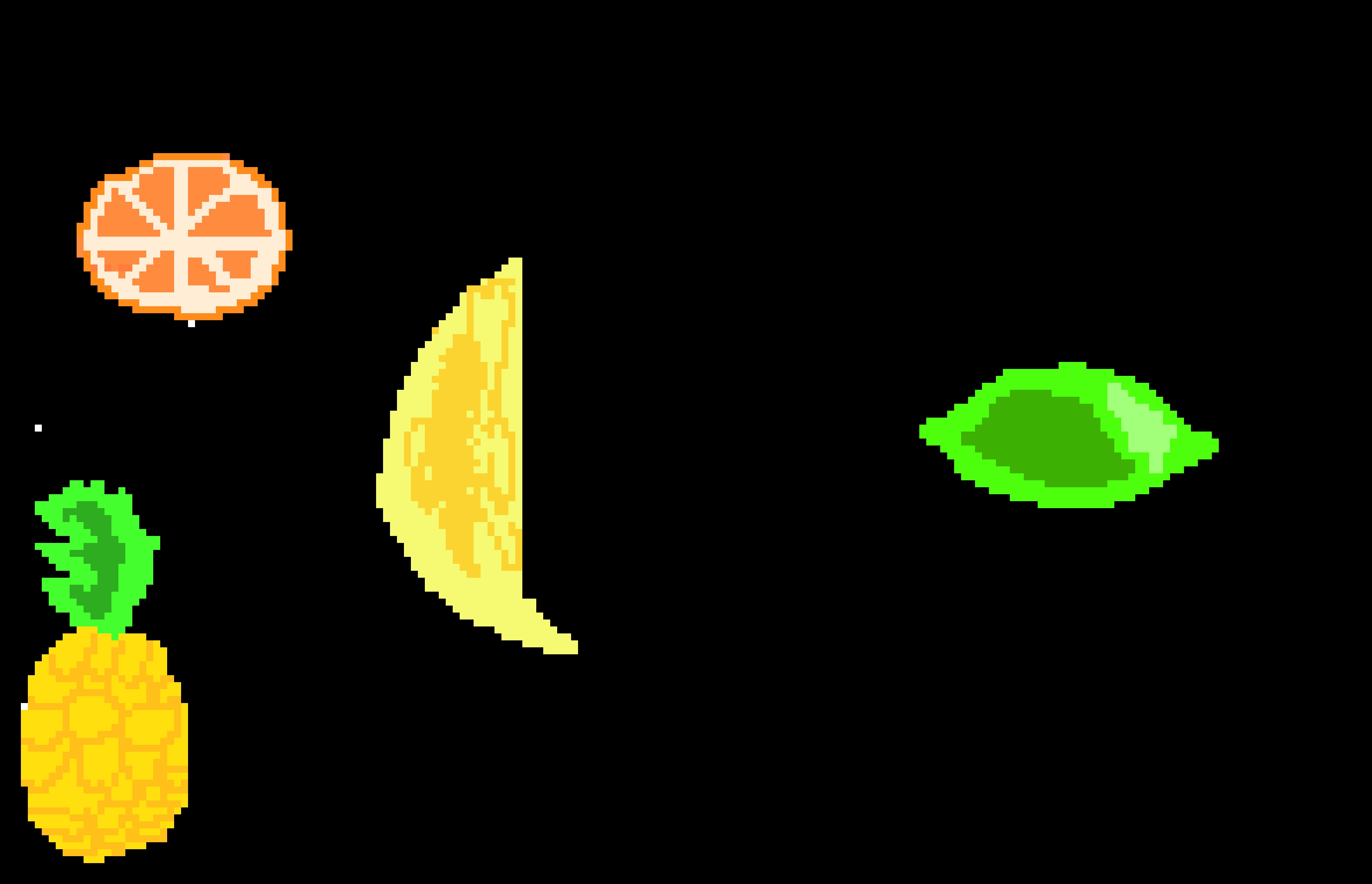All Of My Fruits Pixel Art Maker