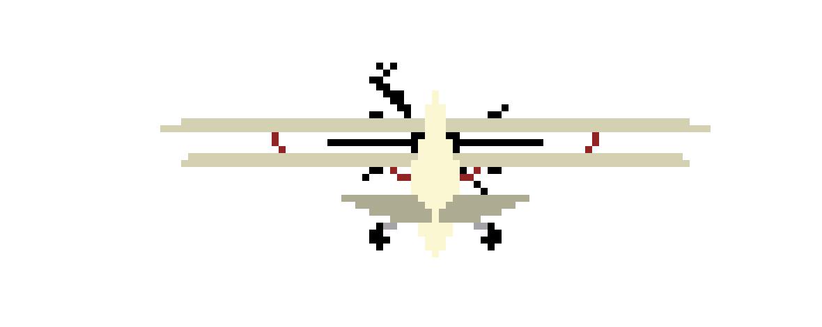 PLANE FRAME 4 | Pixel Art Maker