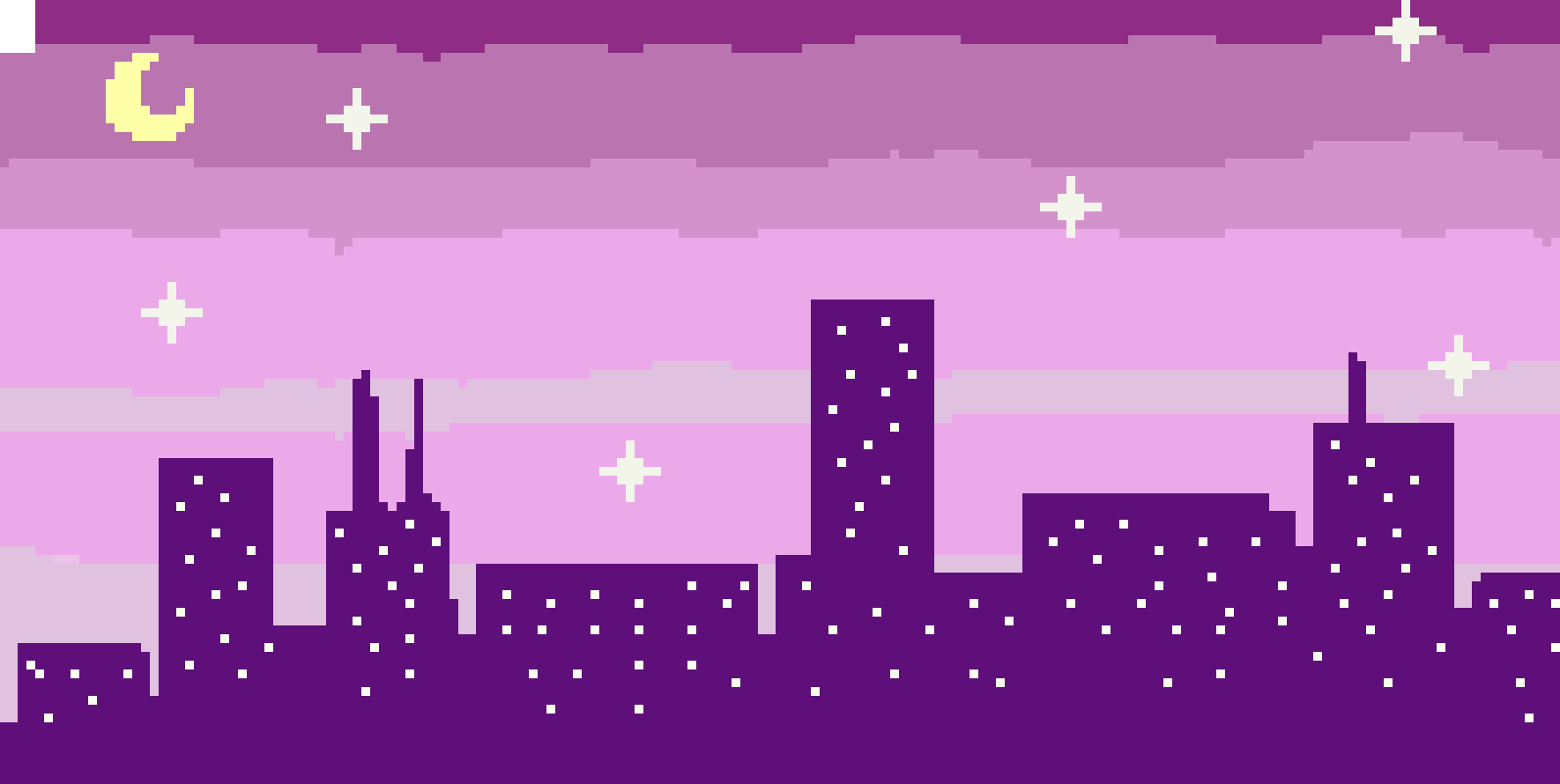 Purple City Pixel Art Maker