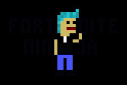 Ninja Fortnite Pixel Art Maker