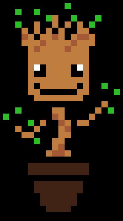 Groot Pixel Art Maker