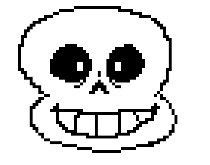 hi im an unfinished sans sprite thing