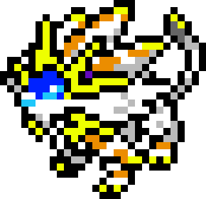 Solgaleo Pixel Art Maker