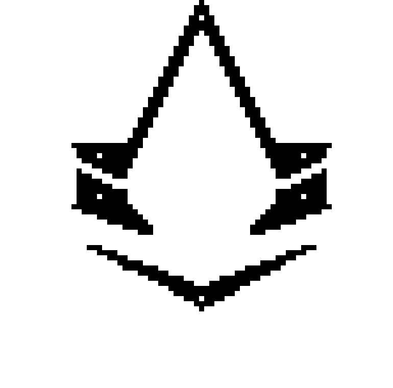 Assassins Creed Syndicate Symbol Pixel Art Maker