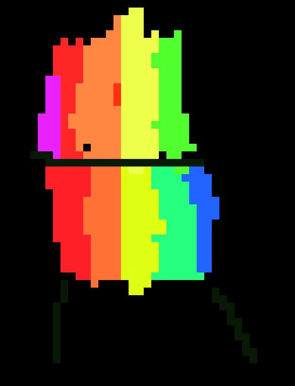the rainbow stupid chiar