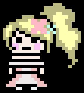 danganronpa pixel sprite base