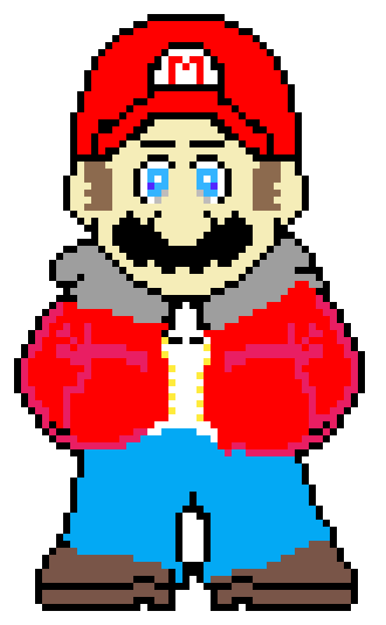 Undertoad Mario Pixel Art For Minecraft Pixel Art Maker