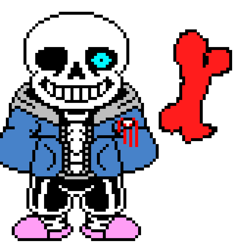 (spawns in a bone thats red) this is a anger bone