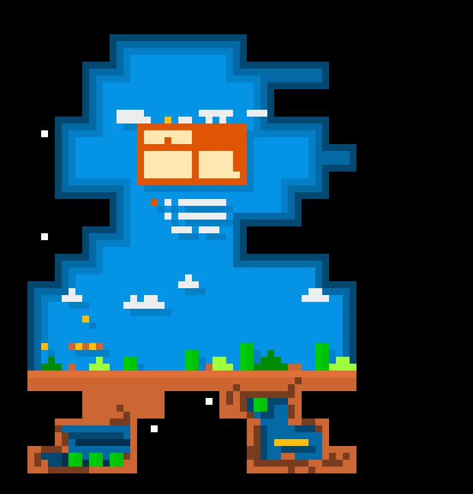 Mario Bros Cool Pixel Art Pixel Art Maker