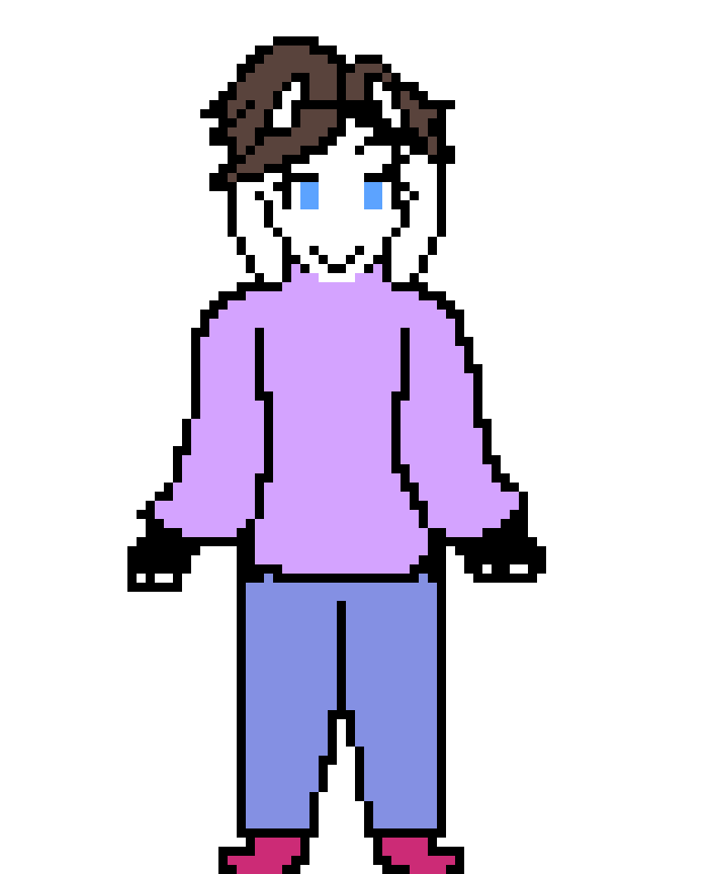 Myself as an Undertale Character