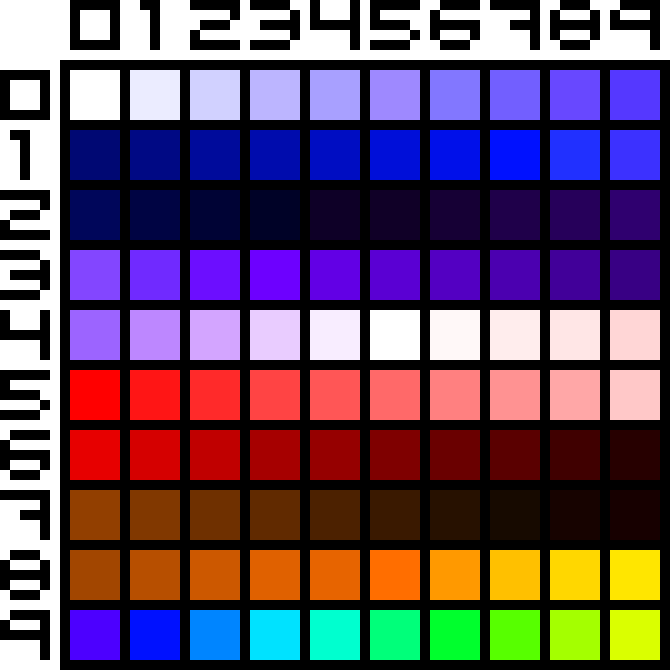 Awesome Art Color Palette