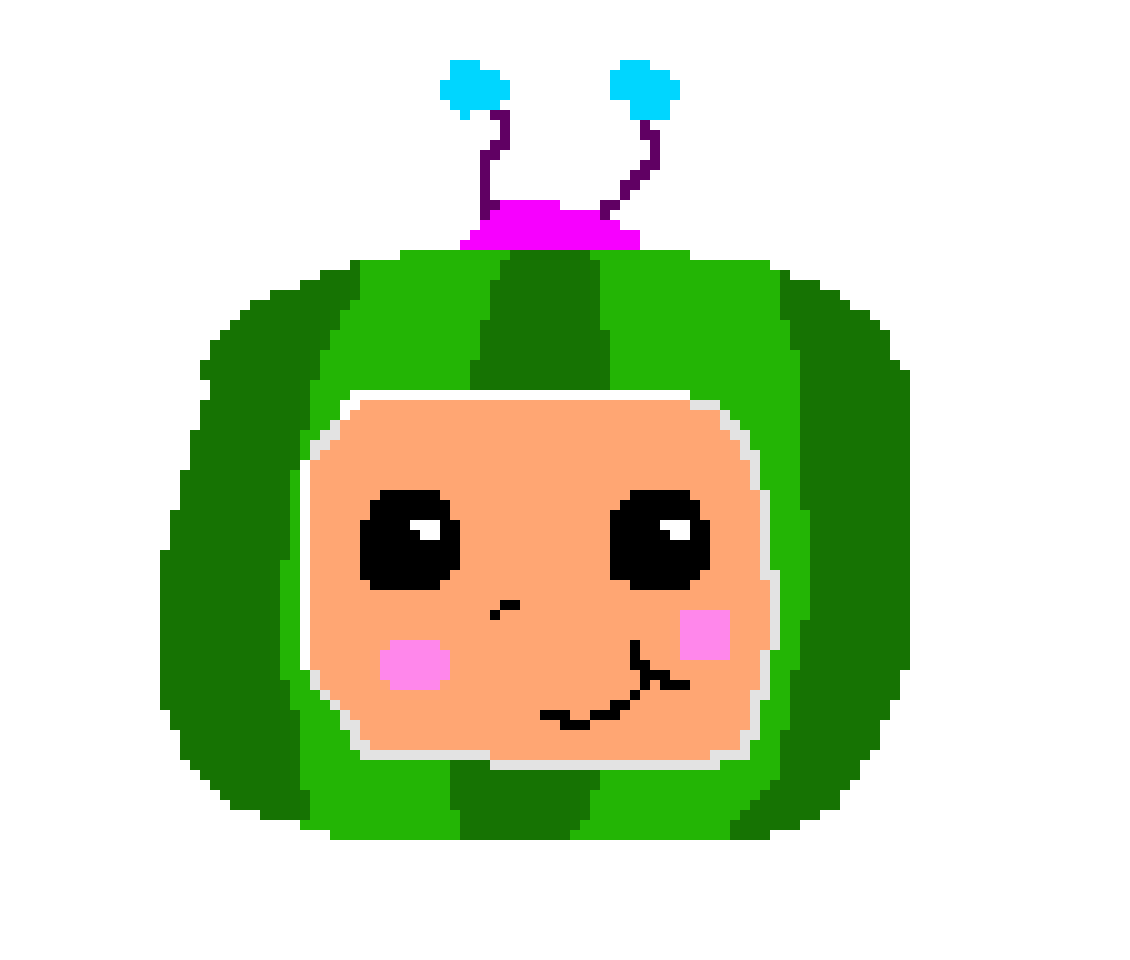 Cocomelon Michael 9 Years Old Pixel Art Maker