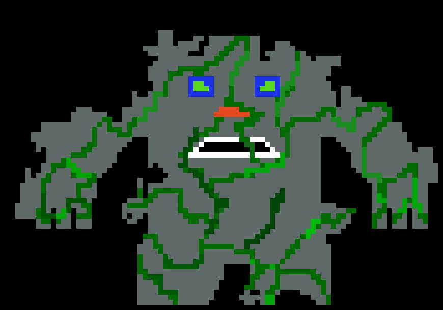 stone monster (evil)