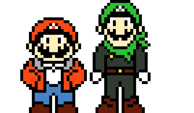 UnderToad Mario and Luigi