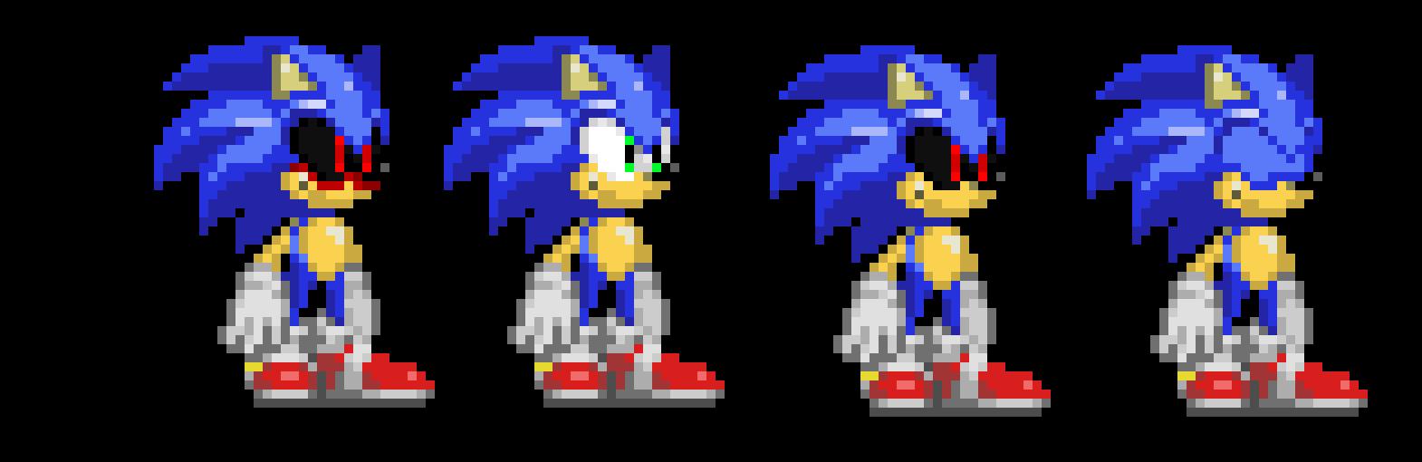 Sonic EXE Sprites   Pixel Art Maker