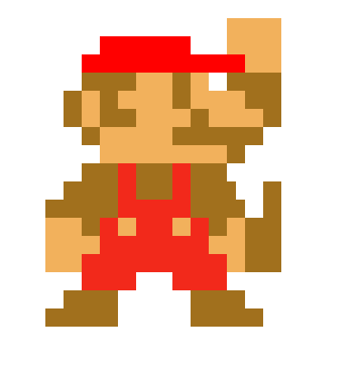Super Mario Sprite | Pixel Art Maker