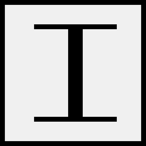 Roman Numeral 1 Pixel Art Maker