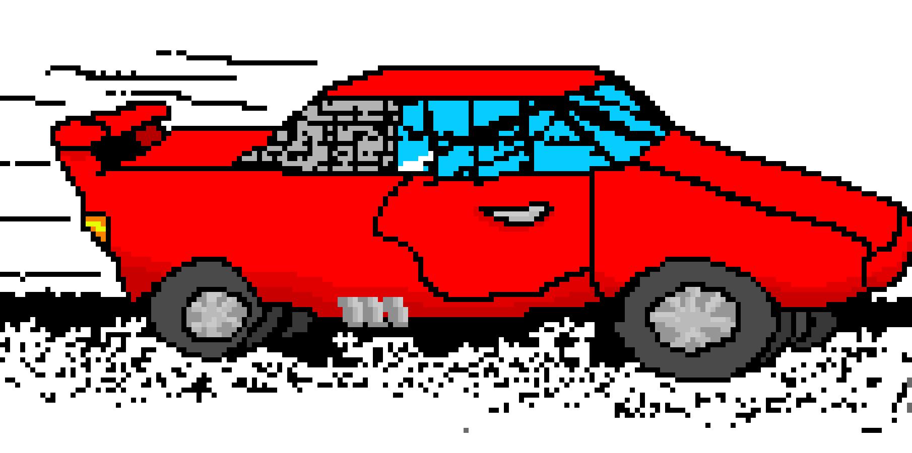 Race Car Pixel Art Maker