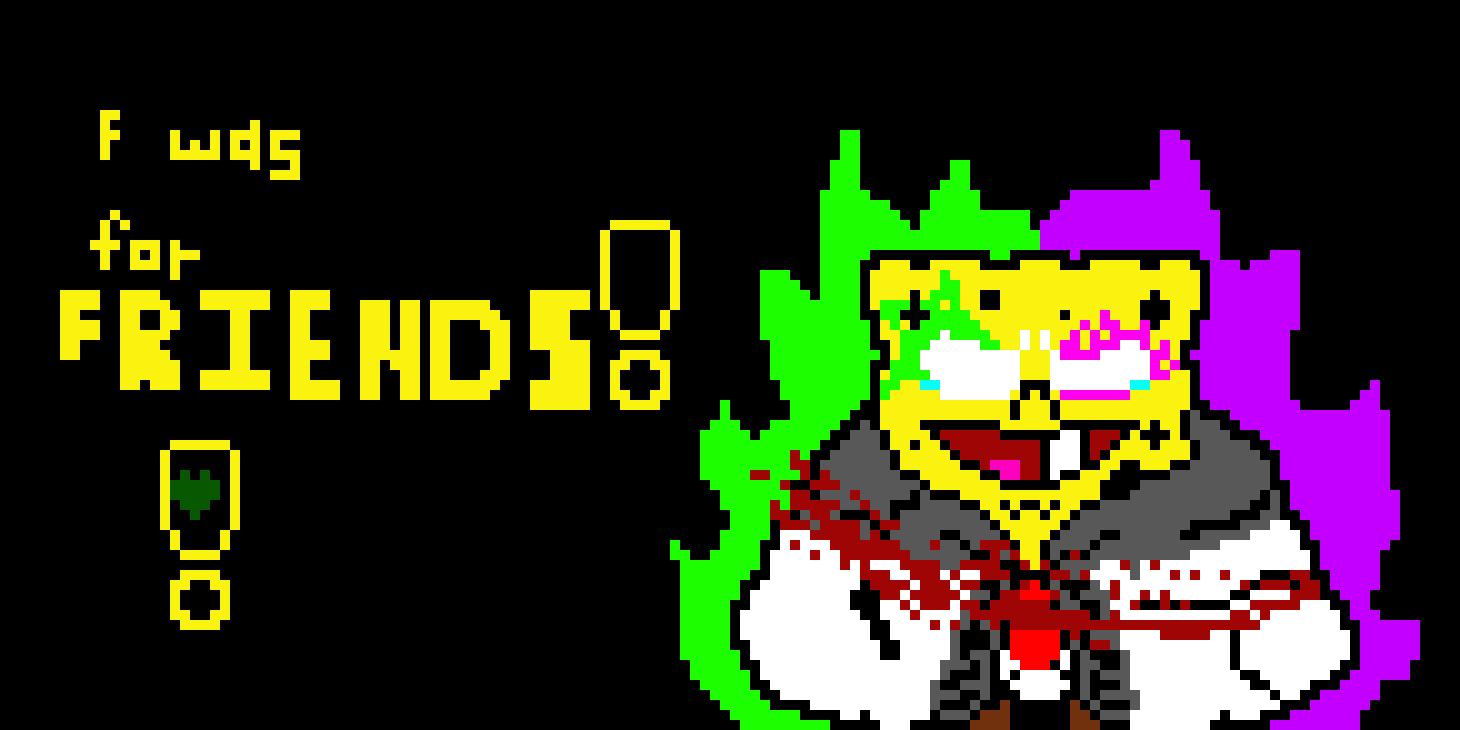 Spongeswap Spongebob Hard Mode V2 Colored Sprite Pixel Art Maker