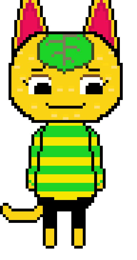Animal Crossing New Leaf Tangy Pixel Art Maker