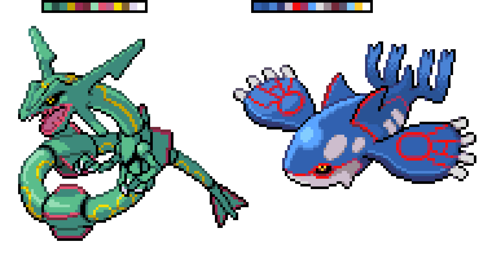 After im done w/ The Title screen opening i am going to finish the Weather Trio! | Fish :O