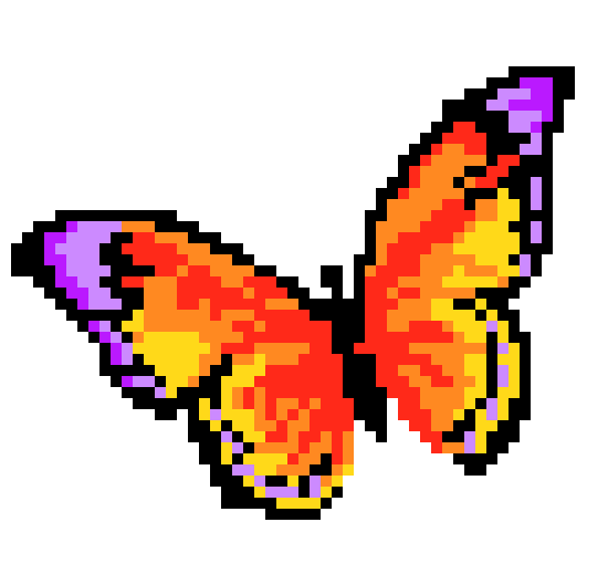 butterflypixelart