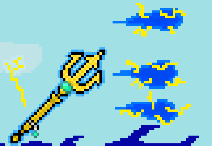 Poseidon's trident v2