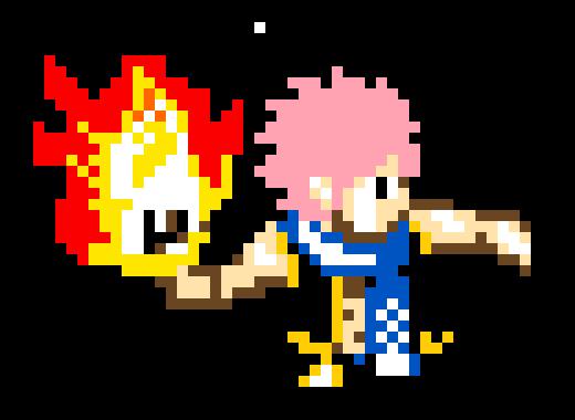 natsu pixel
