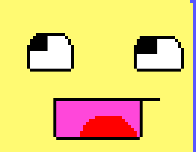 Derp Face Pixel Art Maker