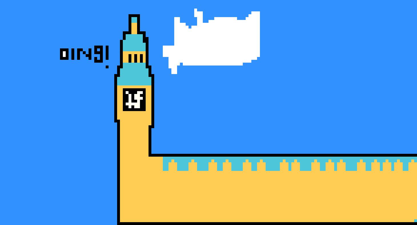 Big Ben Pixel Art Maker