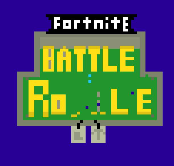 Fortnite Battle Royale Pixel Art Maker
