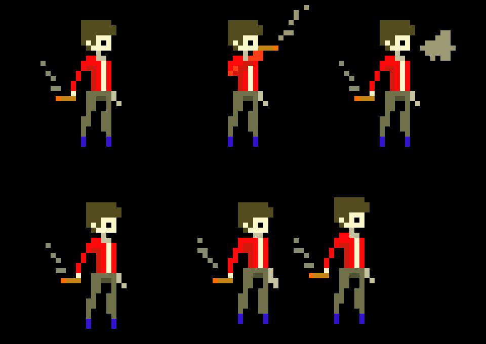 character template pixel art maker