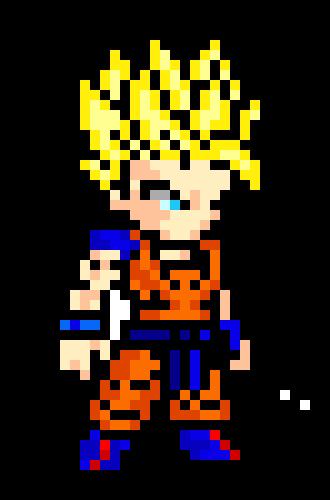 Gohan 2 Arms Pixel Art Maker