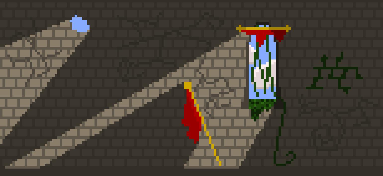 broken castle room pixel art maker
