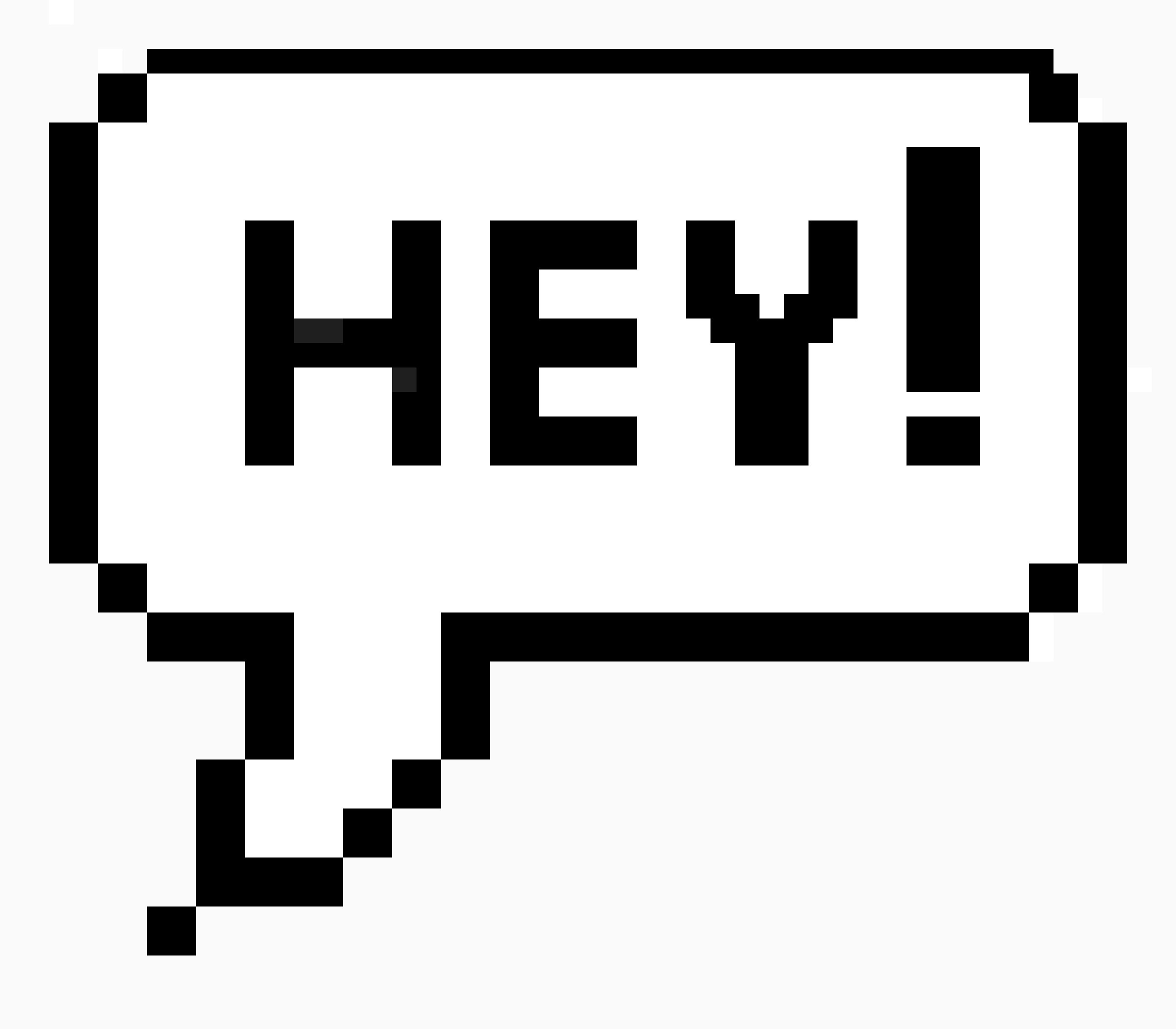 Ok Pixel Speech Bubble