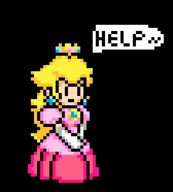 Princess Peach Pixel Art Maker