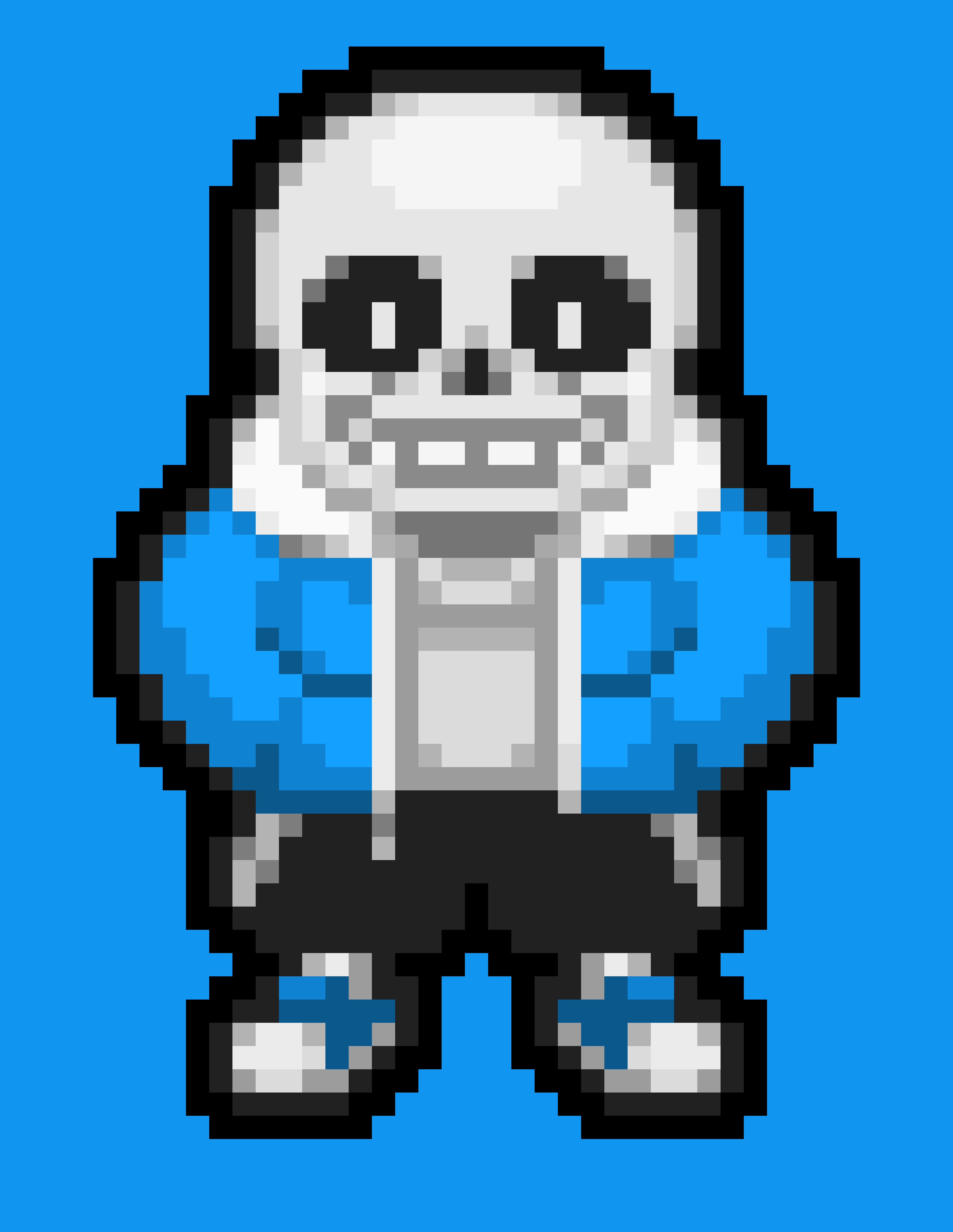 Sans Small Pixel Pixel Art Maker