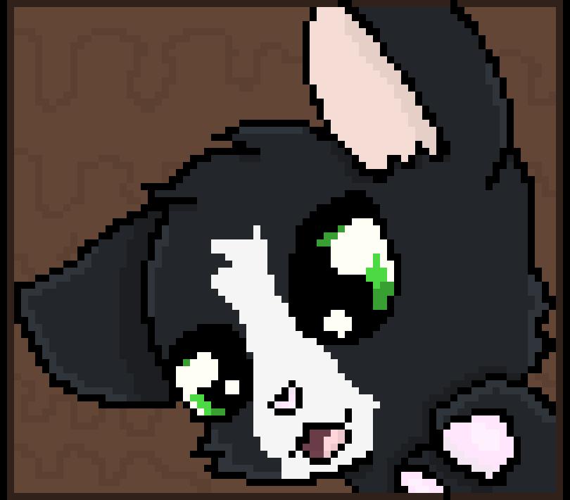 Pixel Black Bean