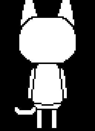Animal Crossing New Leaf Cat Template Pixel Art Maker